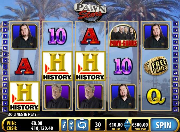 pawn stars free slots