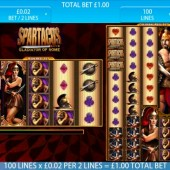Spartacus - Gladiator of Rome mobile slot