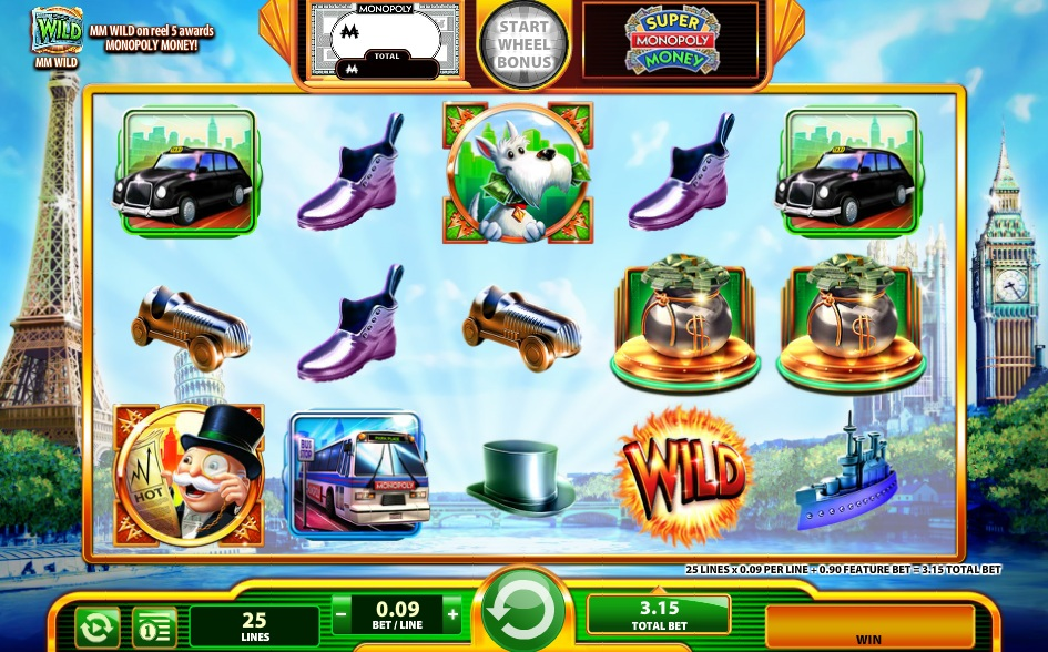 Monopoly Money Slot