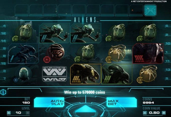 Aliens slot movie blog