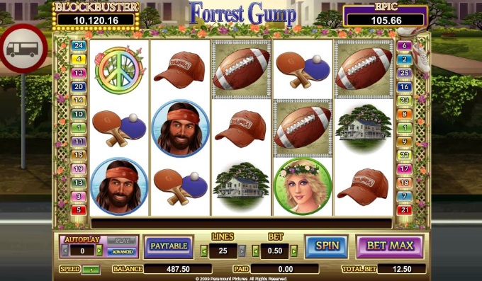 Forrest Gump slot movie blog