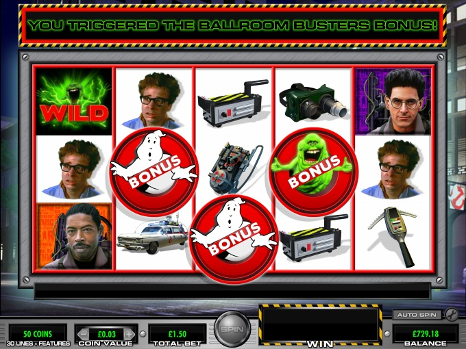 Ghostbusters slot movie blog