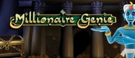 millionaire genie slot logo