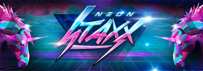 neon staxx slot logo