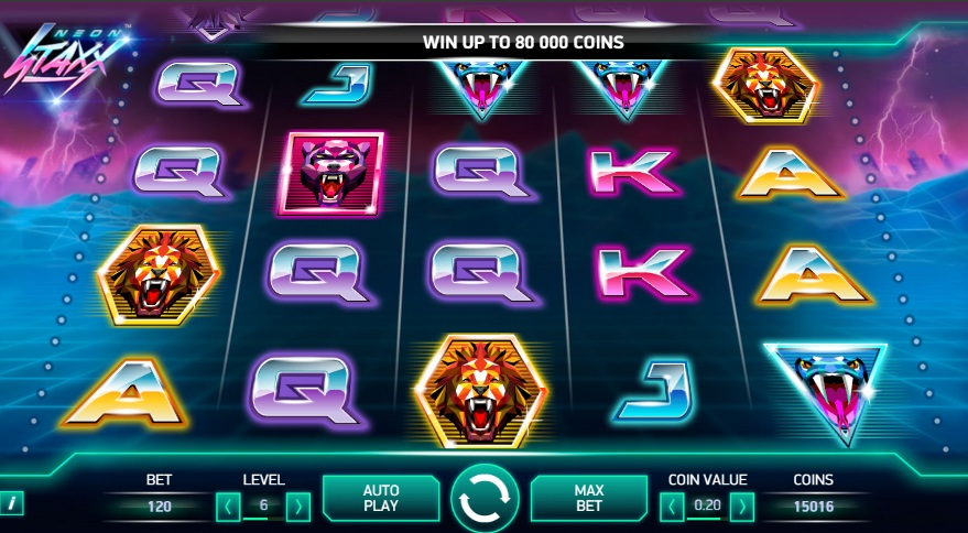 Play casino game Neon Staxx slot at Casumo