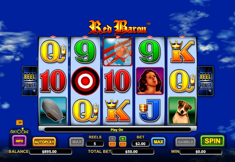The Red Baron Slot - Play Now for Free or Real Money