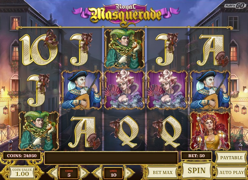 Royal Masquerade Online Slots for Real Money - Rizk Casino