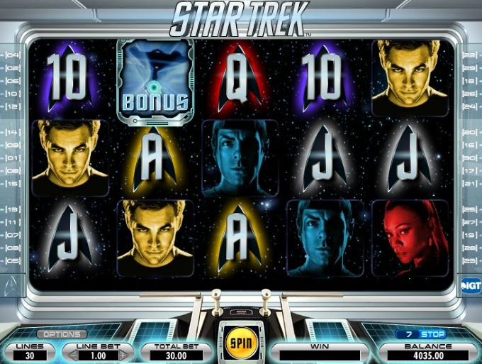 Star Trek slot movie blog