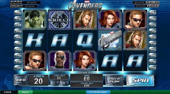 The Avengers slot movie blog