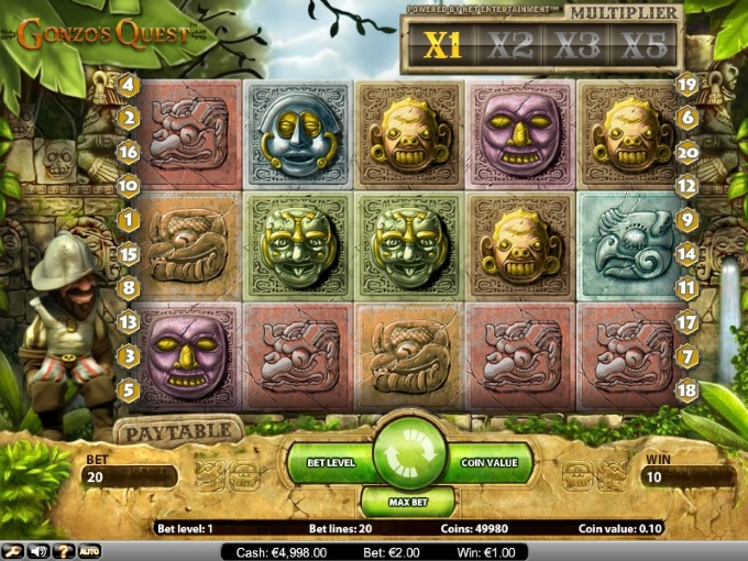Gonzo's Quest sequel slots blog