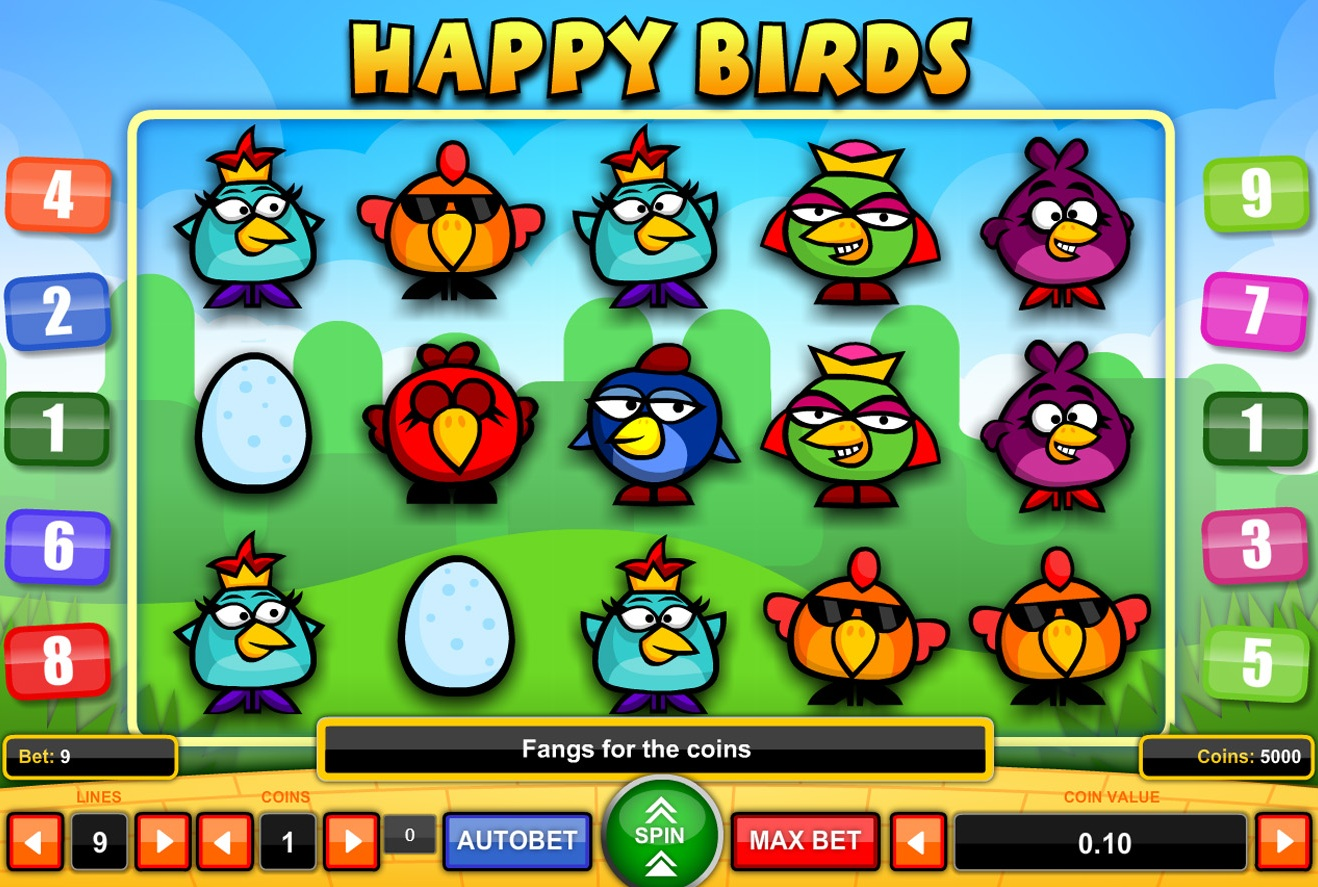 Happy Birds Games