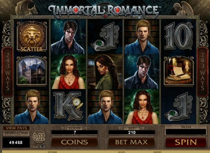 Immortal Romance sequel slots blog