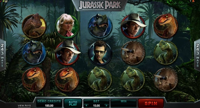 Jurassic Park sequel slots blog