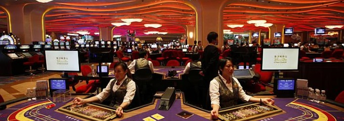 macau casino tables