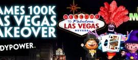 100k Vegas takeover promo