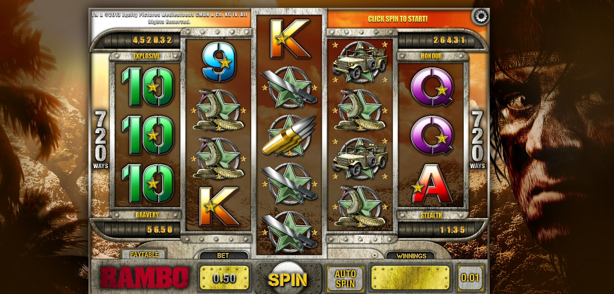 Image result for rambo slots