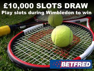 Wimbledon draw mobile slider