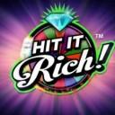 Hit It Rich slot logo