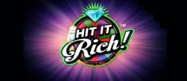 Hit It Rich slot logo
