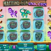 Machine-Gun Unicorn slot