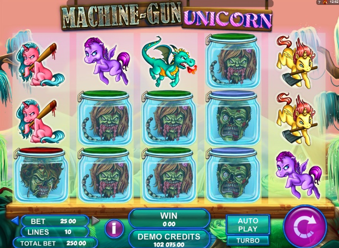 Machine Gun Unicorn Online Slot for Real Money - Rizk Casino