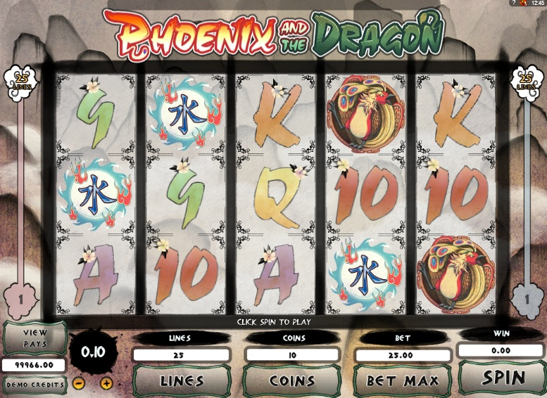 Phoenix and Dragon Slot - Play Online Slots for Free