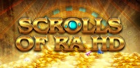 Cover art for Scrolls of Ra HD slot