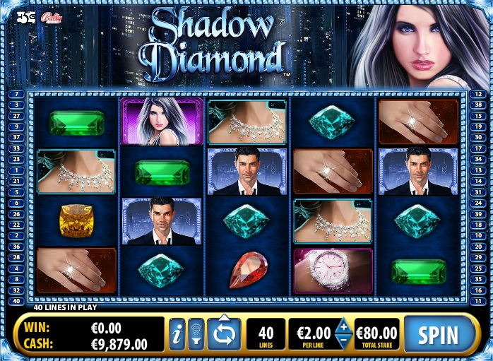 free slots shadow diamonds