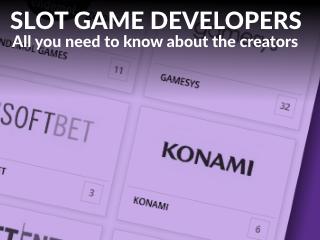 Slots developers mobile slider