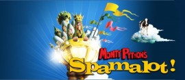 spamalot holy grail slot logo
