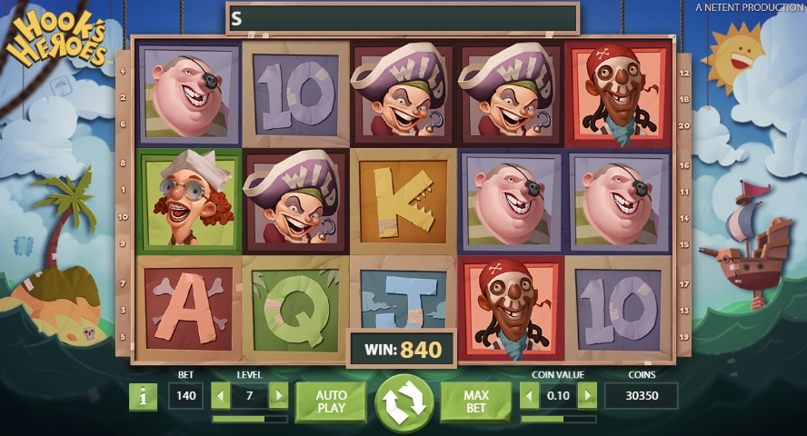Hooks Heroes Slots Review & Free Instant Play Casino Game