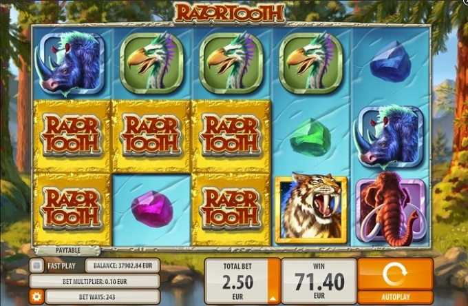 razortooth main game