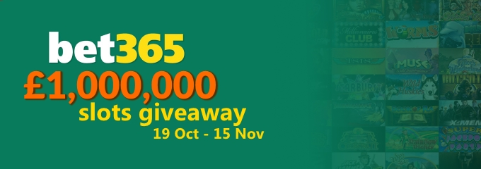 bet365 1m slots giveaway