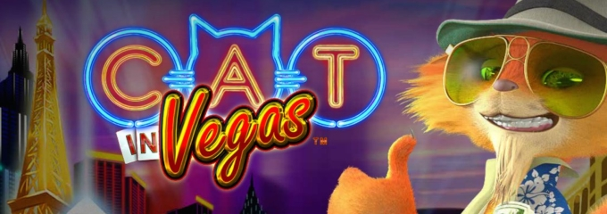 cat in vegas logo