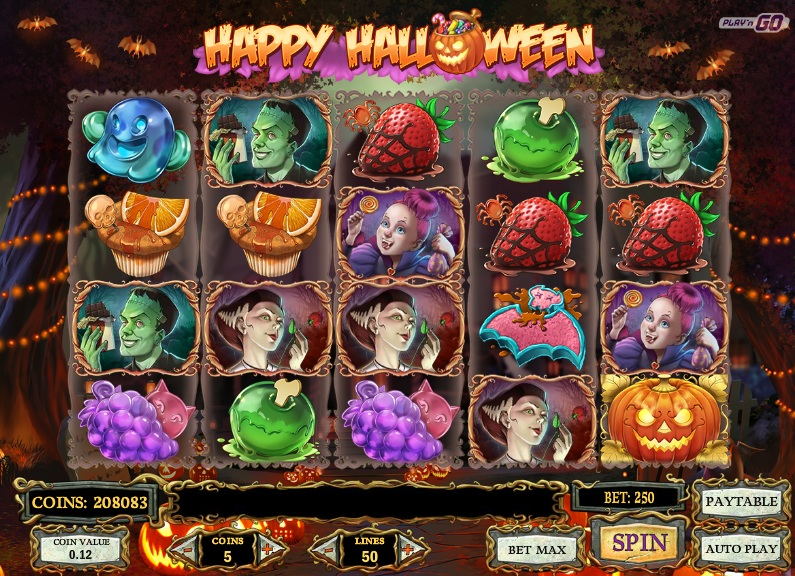 slot games halloween