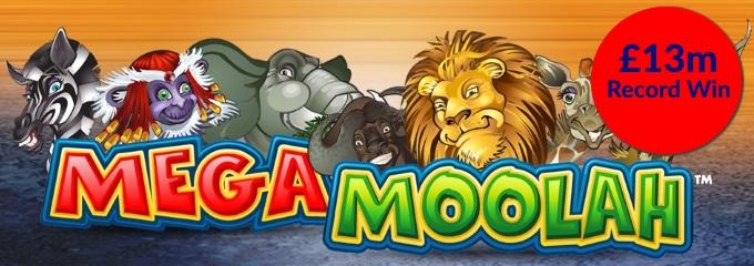 mega moolah record win