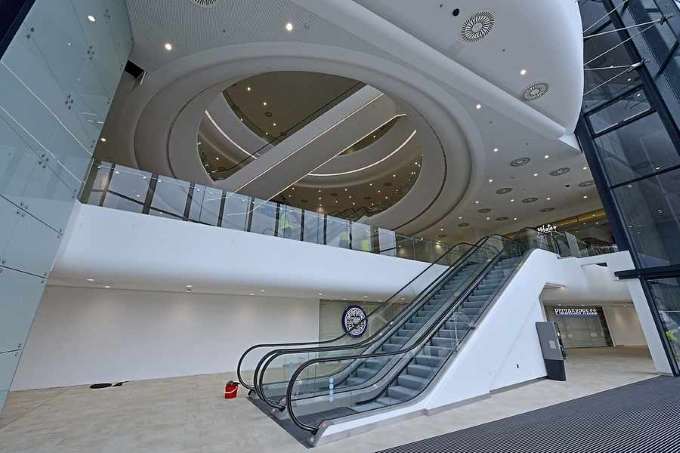inside Resorts World Birmingham