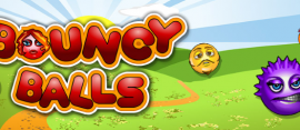 bouncy balls logo