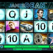 James Dean slot main game