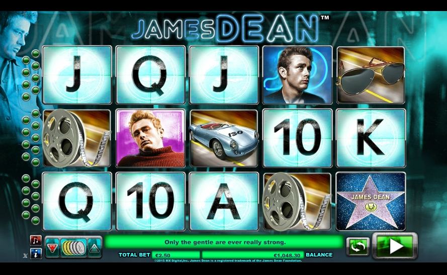 Spiele James Dean - Video Slots Online