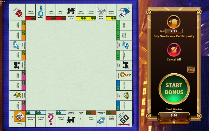 monopoly - once around deluxe board