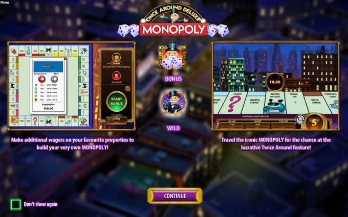 monopoly - once around deluxe bonus