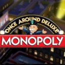 monopoly - once around deluxe logo