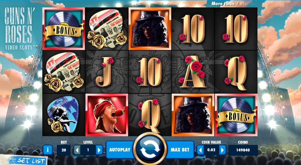 Guns N Roses Slot Announced As Game Of The Year