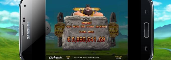 jackpot giant jackpot win