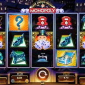Monopoly once around deluxe slot game