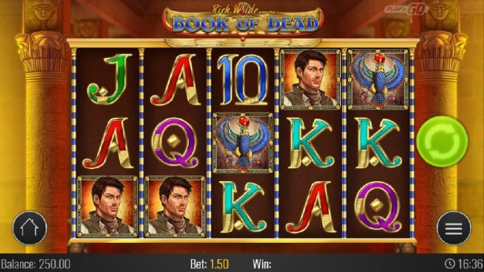rich wilde - book of dead slot