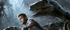 jurassic world chased by dinosaurs
