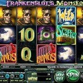 frankenslots monster slot main game