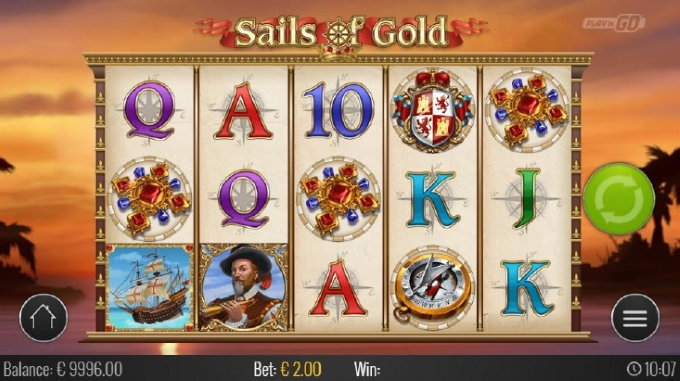 Sails of Gold - Rizk Online Casino